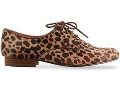 Sam Edelman Kat 8.5M Fur Loafer Leopard Shoes Flats Oxfords #SamEdelman #Oxfords
