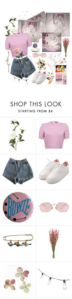 """""""💕 Pink Dream 💕"""" by lilyyjey ❤ liked on Polyvore featuring OKA, American Apparel, LMNT, Cath Kidston and vintage"""