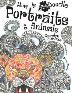 ART DOODLE PORTRAITS CVR