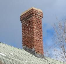 traditional brick chimney caps