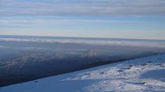 Trevenque bajo un Mar de nubes Sierra Nevada