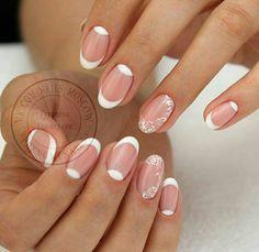 Bridal Nail Art, Nail Ideas, Beauty, Fingernail Designs, Beauty Illustration, Nail Art Ideas, Wedding Nail