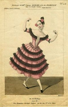 Mundo Bailarinístico - Blog de ballet: Bailarinas Famosas - Fanny Elssler