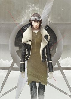 Telegraph Fashion II by Tom Bagshaw
