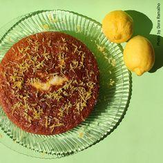 ZIRIPITI: Bolo de Limão com Sementes de Papoila