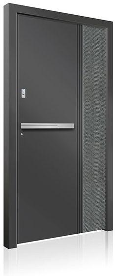 RK-4230 Contemporary Front Doors, Modern Front Door, Front Door Design, Modern Contemporary, Modern Exterior Doors, Interior And Exterior, Aluminium Front Door, Doors Online, Pivot Doors