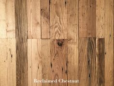 Reclaimed Chestnut Hardwood Flooring  -  $9.99 per square foot  Samples Available - Nationwide Shipping