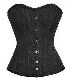 The Violet Vixen - Midnight Flowers Waist Training Corset, 147.69 CAD (http://thevioletvixen.com/authentic-corsets/midnight-flowers-waist-training-corset/)
