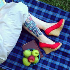Sara E. is giving us loads of ideas for weekend activities... and footwear! Click through to shop similar.