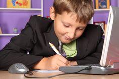 Download Free Stock Photos & Images:  - Child, Monitor, Laptop, Look. photo 0003333383KK