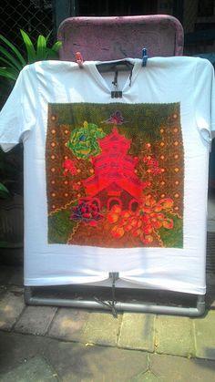 """Kaos batik tulis """"dye changhoo"""""""