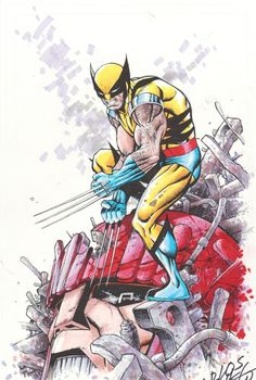 Wolverine commission by Carlos Pacheco - Color Comic Art