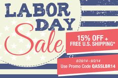 Shop at a discount during our Labor Day Sale! quiltandsewshop.com