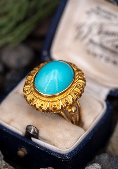 The beautiful cocktail ring is centered with an oval turquoise cabochon weighing carats, in a full bezel setting. The ring measures at the top, rises Radiant Cut Diamond, Amethyst Jewelry, Diamond Are A Girls Best Friend, Cocktail Rings, Gemstone Rings, Bling, Wedding Rings, Jewels, Beautiful Body