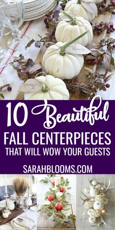Decorating for the holidays is so much fun! Make your house feel like fall with these 10 Beautiful Thanksgiving Centerpieces your guests will love! Diy Hanging Shelves, Diy Wall Shelves, Diy Coffee Table, Mason Jar Lighting, Mason Jar Diy, Fall Decor, Diy Home Decor, Easy Diy, Centerpieces