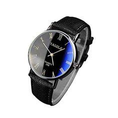 Fulltime(TM) Style Luxueux Nouveau Hommes Montres à Quartz Analogiques de Verre Bleu Bracelet Noir en PU Cuir 2017 #2017, #Montresbracelet http://montre-luxe-homme.fr/fulltimetm-style-luxueux-nouveau-hommes-montres-a-quartz-analogiques-de-verre-bleu-bracelet-noir-en-pu-cuir-2017/