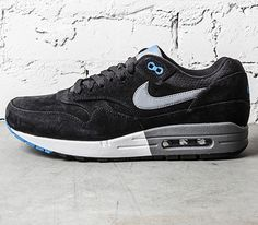 Nike Air Max 1 Premium-Black-Blue