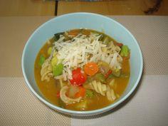 Krížikové vyšívanie Thai Red Curry, Cross Stitch, Soup, Ethnic Recipes, Punto De Cruz, Seed Stitch, Cross Stitches, Soups, Crossstitch
