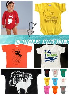 Enter to win an item of your choice from Vicarious Clothing at Real Moms Real Views @vicariousclothing