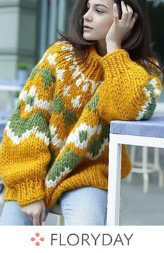 New Idea Your Grandmother's Crochet Really Fashion 2019 .- New Idea Your Grandmother's Crochet Really Fashion 2019 – Page 9 of 37 – apronbasket .com crochet fashion, crochet fashion crochet fashion patterns, crochet fashion boho, crochet fashion scarf - Knitwear Fashion, Crochet Fashion, Free Knitting, Knitting Patterns, Knitting Sweaters, Vogue Knitting, Mode Boho, Modern Crochet, Loose Sweater