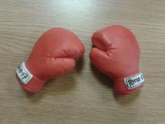 Fondant boxing gloves | Flickr - Photo Sharing!