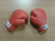 Fondant boxing gloves | Flickr - Photo Sharing!