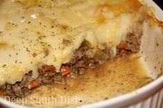 Deep South Dish: Shepherd's Pie