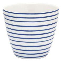 GreenGate Latte Cup - Sally indigo