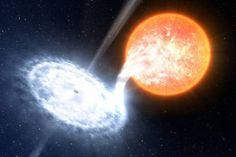 Star and Black Hole - NASA Photo