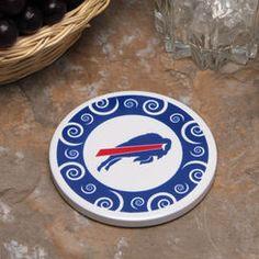 Buffalo Bills Single Swirl Coaster $4.99 on nfl.com - Billy/Rachael