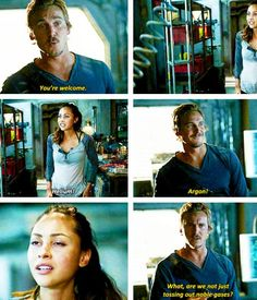 The 100 - Raven and Wick #2.4 #Season2 | love this part! Ravens just all like, 'wuuut?'