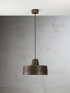 Officina | Iron indoor suspension lamps and appliques