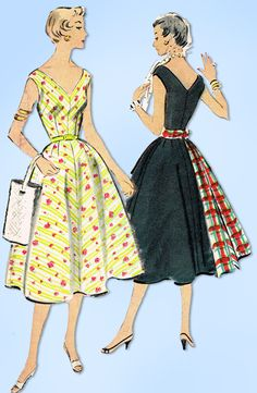 Excited to share the latest addition to my #etsy shop: 1950s Original Vintage McCall's Pattern 9787 Misses Sun Dress & Sash Size 30 B http://etsy.me/2ojifmS #supplies #sewing #missespattern #sewingpattern #50spattern #sewingpatterns #1950spatterns #mccallspattern #dres