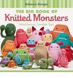 Includes creative projects for knitted monsters! This title presents 20 patterns for the monsters ever to climb off a pair of knitting needles that are shown in two colourways, and are done in two yarn weights, to help you pick the suitable yarn to suit your monster's personality.