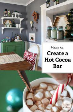 Hot to Make a Hot Cocoa Bar