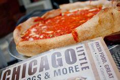 Little Chicago on Demonbreun in Nashville - Deep Dish Chicago Style Pizza!    #onlyinnashville