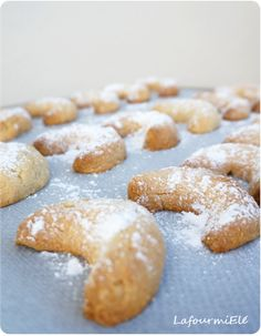 Cornes aux noisettes #biscuit