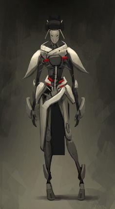 ICHIDO Geisha attendant by *Reza-ilyasa on deviantART