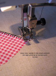 blanket stitch applique tutorial