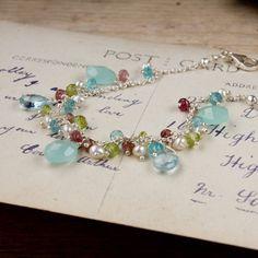 good use of various gemstones
