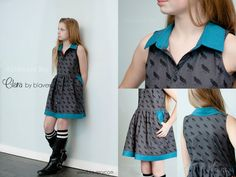 NEW Clara twirl Dress Tunic PDF pattern  - sizes 9m - 16y