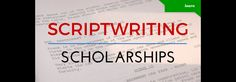 List of Top Scriptwriting Scholarships: Are you ready to take your script to the next level? These scriptwriting… #filmmaker #filmmaking