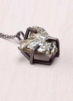 Lady Grey Prong Set Pyrite  $352.00