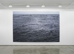 Wolfgang Tillmans work titled The State We're In, A from 2015 at Maureen Paley in London until 31st July.