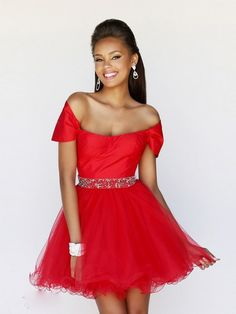 1000e1c10bc Robe rouge courte pour mariage Robe Cocktail Rouge