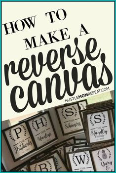 10 easy steps on how to make a reverse canvas sign! These reverse canvases make the perfect gift for any occasion. 10 easy steps on how to make a reverse canvas sign! These reverse canvases make the perfect gift for any occasion. Wine Bottle Crafts, Mason Jar Crafts, Mason Jar Diy, Vinyl Crafts, Vinyl Projects, Circuit Projects, Wood Crafts, Canvas Projects Diy, Burlap Projects
