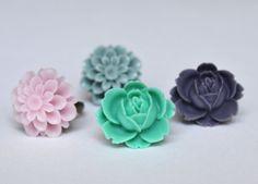 Purple Rose Ring Deep Royal by LOVEnLAVISH