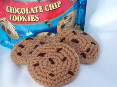 Great idea - Eden could use some crochet play food!