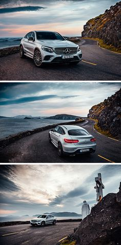 Along the coast with the Mercedes-Benz GLC Coupé.  Photo by Kai Bernstein (www.kaibernstein.de) for MBsocialcar