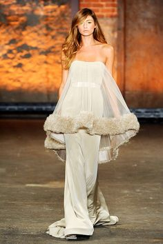 So glamorous… like the gown version of a boudoir teddy. I thought of ann margret { Christian Siriano }